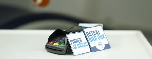 U kunt bij ons met PIN of creditcard betalen. Overmaken mag ook.
